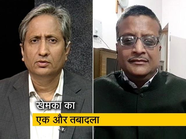 Videos : रवीश कुमार का प्राइम टाइम:  IAS अधिकारी अशोक खेमका का 53वां तबादला क्यों?