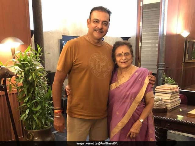"""Ravi Shastri Posts A Heartwarming Message For His """"Biggest Critic And Inspiration"""" On Her Birthday"""