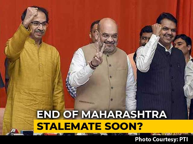 Video : BJP To Meet Maharashtra Governor Tomorrow, Sena Repeats '50:50' Demand