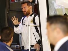 Messi, Argentina Teammates Arrive In Israel For Uruguay Friendly