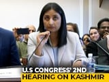 "Video : ""There Is No India Without Kashmir"": Indian Columnist At US Congress"