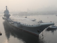 China's First Indigenous Aircraft Carrier Sails Through Taiwan Strait