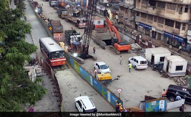 Shiv Sena Protests Against Mumbai Metro, City Development Body Over Pollution