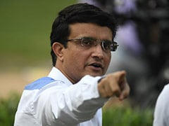 """Ganguly Looks """"Forward To 5 Days"""", Shares Video Ahead Of Day-Night Test"""