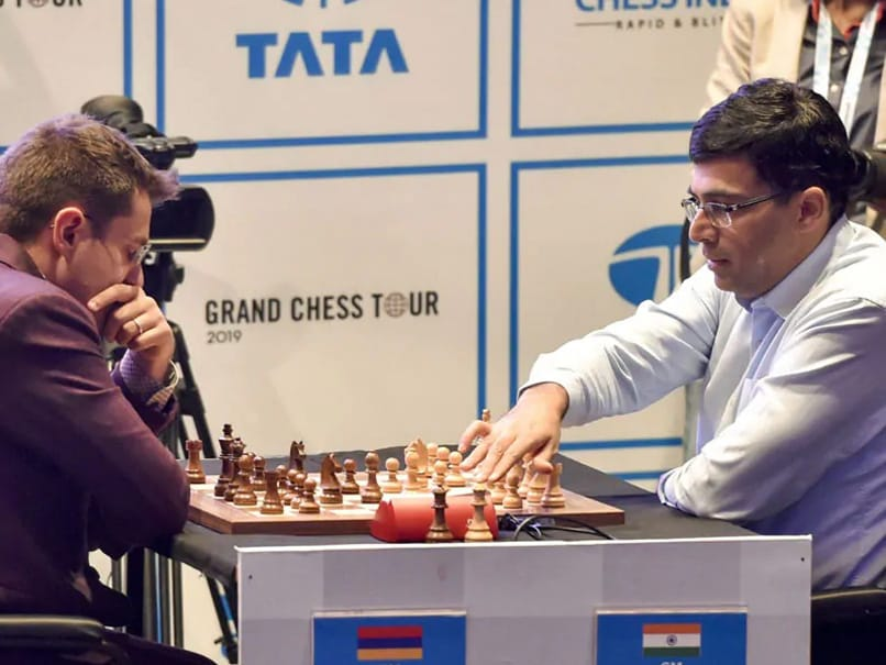 Tata Steel Rapid And Blitz Chess: விஸ்வநாதன் ஆனந்த் ஐந்தாவது இடம் பெற்றார்