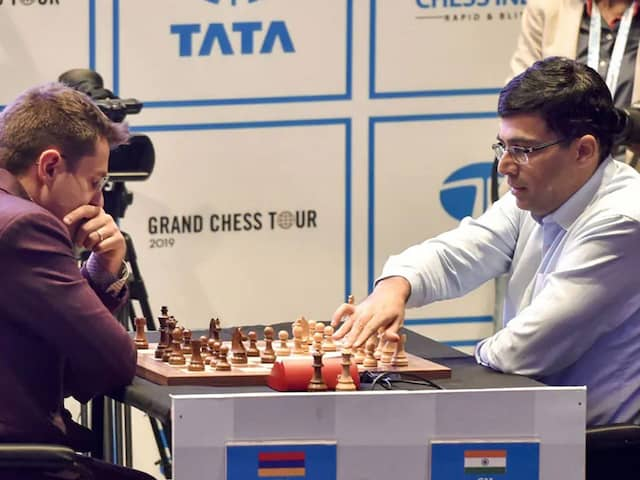 Tata Steel Rapid And Blitz Chess: Viswanathan Anand Tied Fifth, Magnus Carlsen On Course To Win