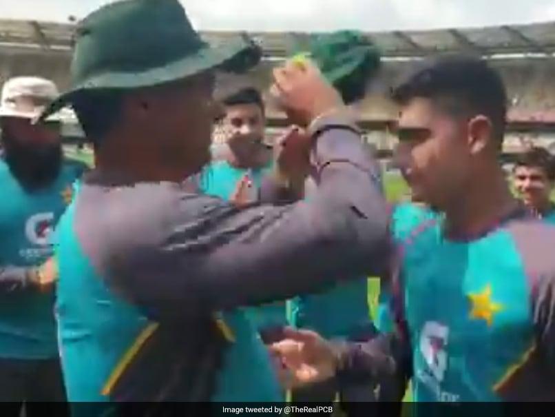 Australia vs Pakistan 1st Test: Naseem Shah bursts into tears after receiving Test cap from Waqar Younis