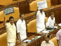 After Clashes, Kerala Opposition Takes Blood-Stained Vest Inside Assembly
