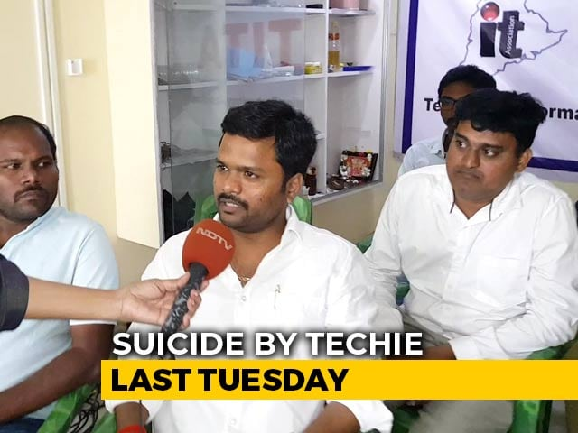 """Video : """"No One To Help"""": Telangana IT Workers Say After Techie, 24, Kills Herself"""