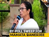 "Video : ""BJP's Politics Of Arrogance Rejected"": Mamata Banerjee As TMC Sweeps Bypolls"