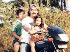 Pint-Sized Ira Khan With Aamir Khan In This Throwback Pic