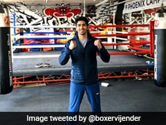 "Vijender Singh Looks To End ""Year On A Winning Note"", Faces Charles Adamu On Dubai Debut"