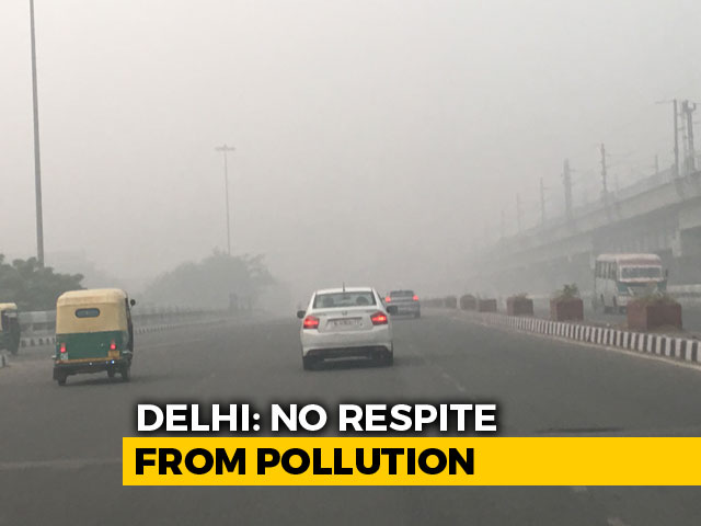 Video : Delhi Still Trapped In Toxic Smog, Flights Delayed Due To Poor Visibility