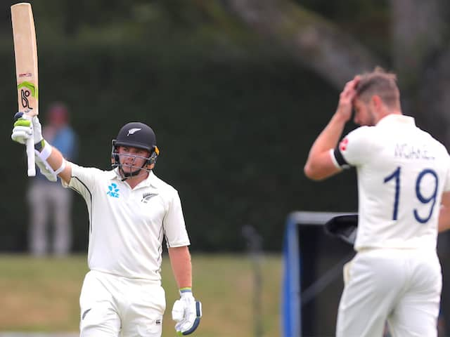 2nd Test: Tom Latham Hundred Puts New Zealand In Solid Position Against England On Day 1