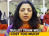"Video : ""Costs Too Much... Won't Give Results:"" Sena On PM's Bullet Train Project"