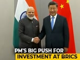 "Video : ""So Much Trust And Friendly Relations"": PM Modi Meets Xi Jinping In Brazil"