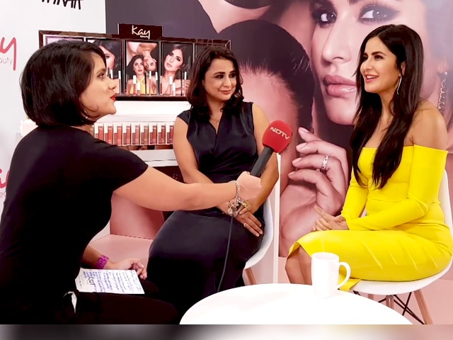 Video : Katrina Kaif And Reena Chhabra On The Launch Of Kay Beauty