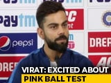 Virat Kohli Says Day-Night Test In Kolkata, India