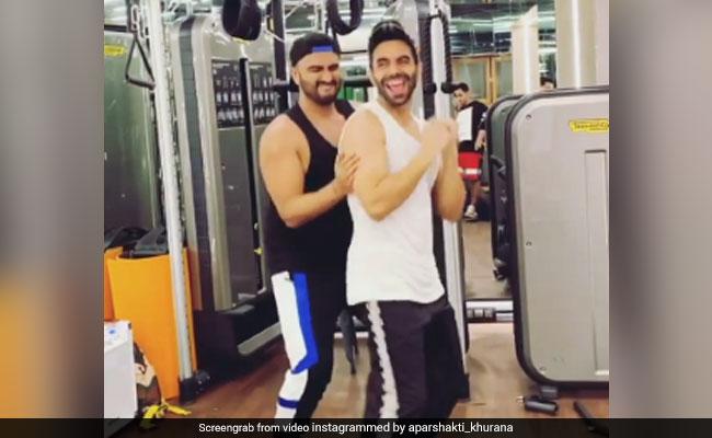 'Don't Be Shy Again' Challenge: Arjun Kapoor And Varun Dhawan Groove With Aparshakti Khurana