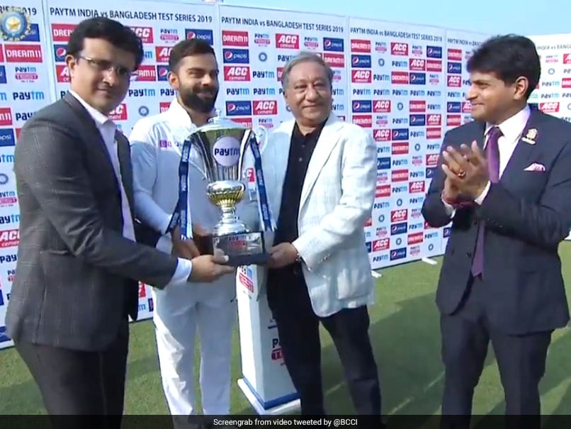 """Learnt To Stand Up, Give It Back"": Virat Kohli Credits Sourav Ganguly For Winning Habit"