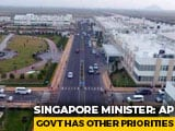 Video : Andhra Cancels Start-Up Infra Work In Amaravati, Singapore Firms Pull Out