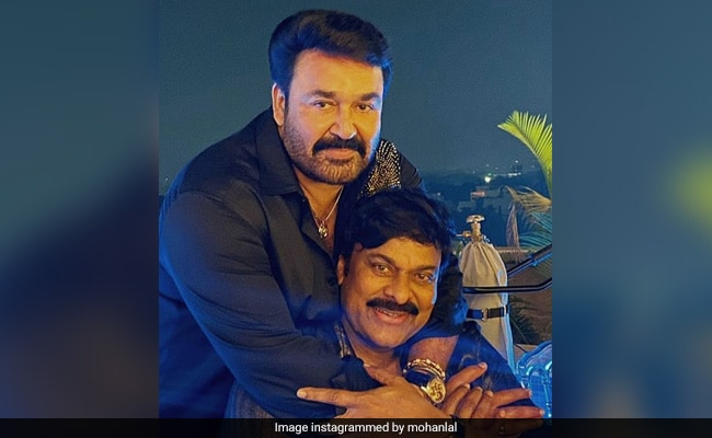 Mohanlal And Chiranjeevi's Pic From 'Class Of 80s' Reunion Party Is Breaking The Internet