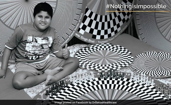 Jaipur Teen Becomes 'World's Youngest Differently-Abled Patent Holder'