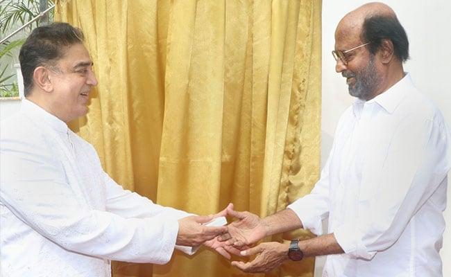 'No Good Leaders': Kamal Haasan Backs Rajinikanth On Tamil Nadu's 'Political Vacuum'