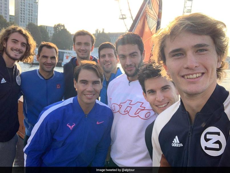 "Roger Federer, Rafael Nadal And Novak Djokovic Feel Future Of Tennis Is ""In Good Hands"""