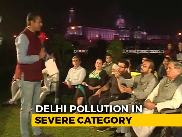 Video : Political Slugfest Over Delhi Air Pollution