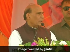 No Power Can Stop Ram temple Construction In Ayodhya: Rajnath Singh