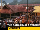 Video : Sabarimala All-Women Entry Continues, Larger Bench To Take Up Objections