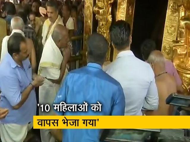 Video : श्रद्धालुओं के लिए खुले सबरीमला मंदिर के कपाट