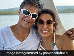 मंगेतर के साथ गोवा में यूं इंजॉय कर रही हैं पूजा बेदी, देखें Viral Photo