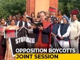 "Video : ""We The People..."": Sonia Gandhi At Opposition's Constitution Day Protest"