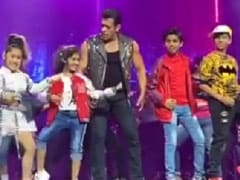 Children's Day 2019: Salman Khan Danced To <i>Slow Motion</i> With Kids