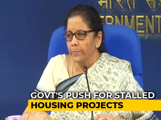 Video : Centre Announces Rs. 25,000 Crore Fund For Stalled Real Estate Projects