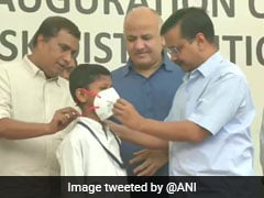 """Arvind Kejriwal Asks Students To Write To """"Captain Uncle, Khattar Uncle"""" About Air Pollution, Stubble Burning"""