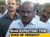 Video : Disappointed By Verdict On Disqualified Karnataka MLAs: HD Kumaraswamy