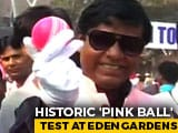 Kolkata Goes Pink For 1st Day-Night Test