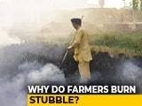 Video : Despite Ban, Farmers In Punjab Continue To Burn Stubble
