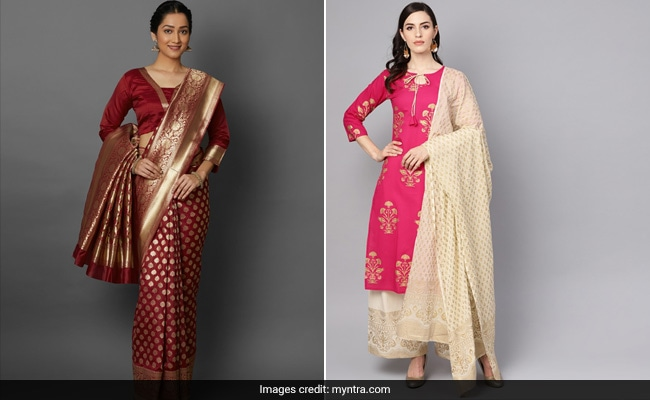 It's Your Last Chance To Grab These 9 Ethnic Outfits At Up To 80% Off On Myntra
