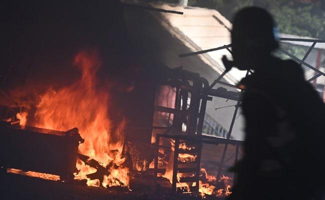 Police Shoot Protester, Set Man On Fire Amid Hong Kong Fury