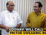 "Video : ""Never Dreamed Of Leading Maharashtra"": Uddhav Thackeray Oath On Thursday"