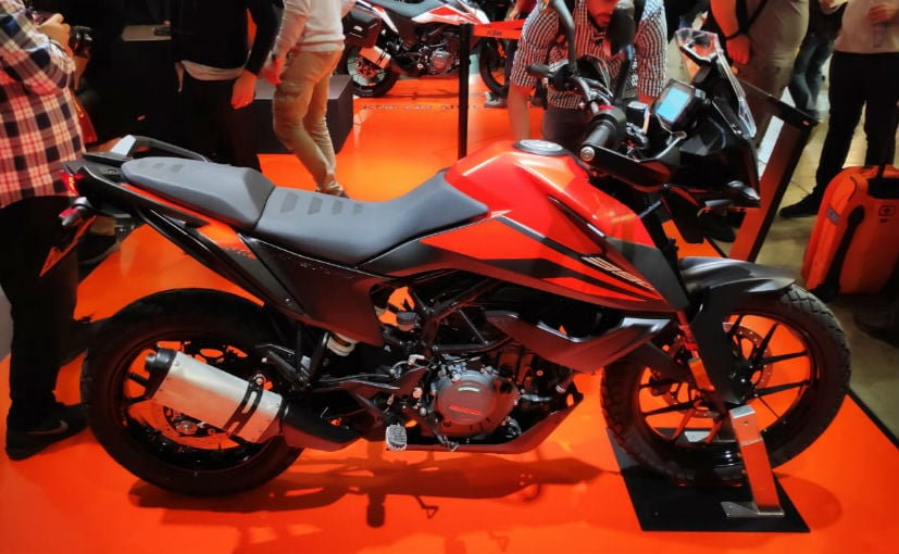 The KTM 390 Adventure is expected to be launched at the India Bike Week 2019