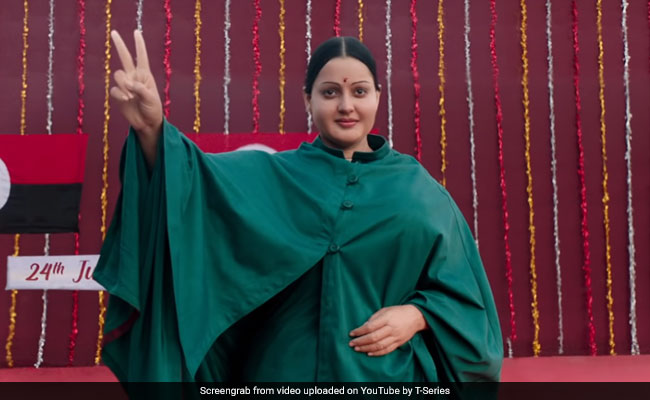 In Chennai, Kangana Ranaut As Jayalalithaa Described As 'Mannequin, Mocking'
