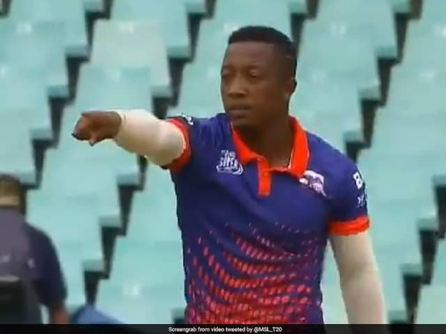 Watch: South African Bowler Picks Up Wickets Bowling With Both Arms In Mzansi Super League