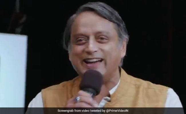 'Uncle Ko Angrezi Bolke Sunao': Shashi Tharoor's Comedy Act