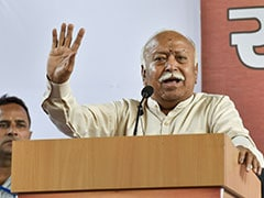 "Mahatma Gandhi Called Himself A ""Hardcore Sanatani Hindu"": RSS Chief"