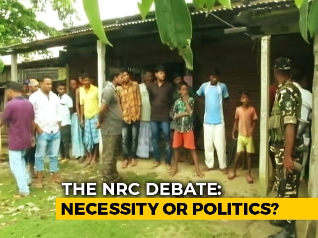 Video : The NRC Debate Is Back